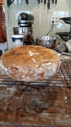Finished bread.