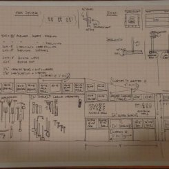 Tool library rough sketch.
