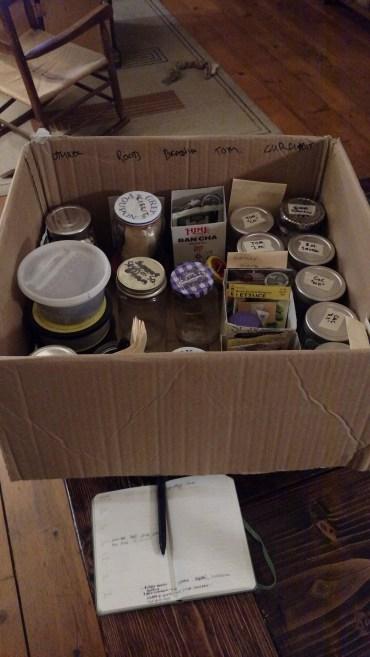 Organized seeds.