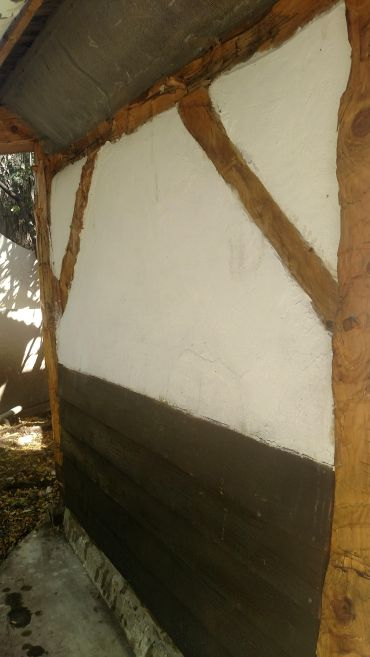 Rear of the coop.