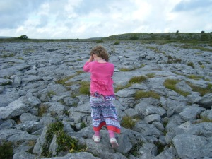08-10 Girl on the Burren